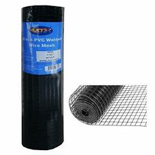 Mtb Black Pvc Coated Welded Wire Mesh Garden Economy Fence 36 Inch X 25 Foot 1