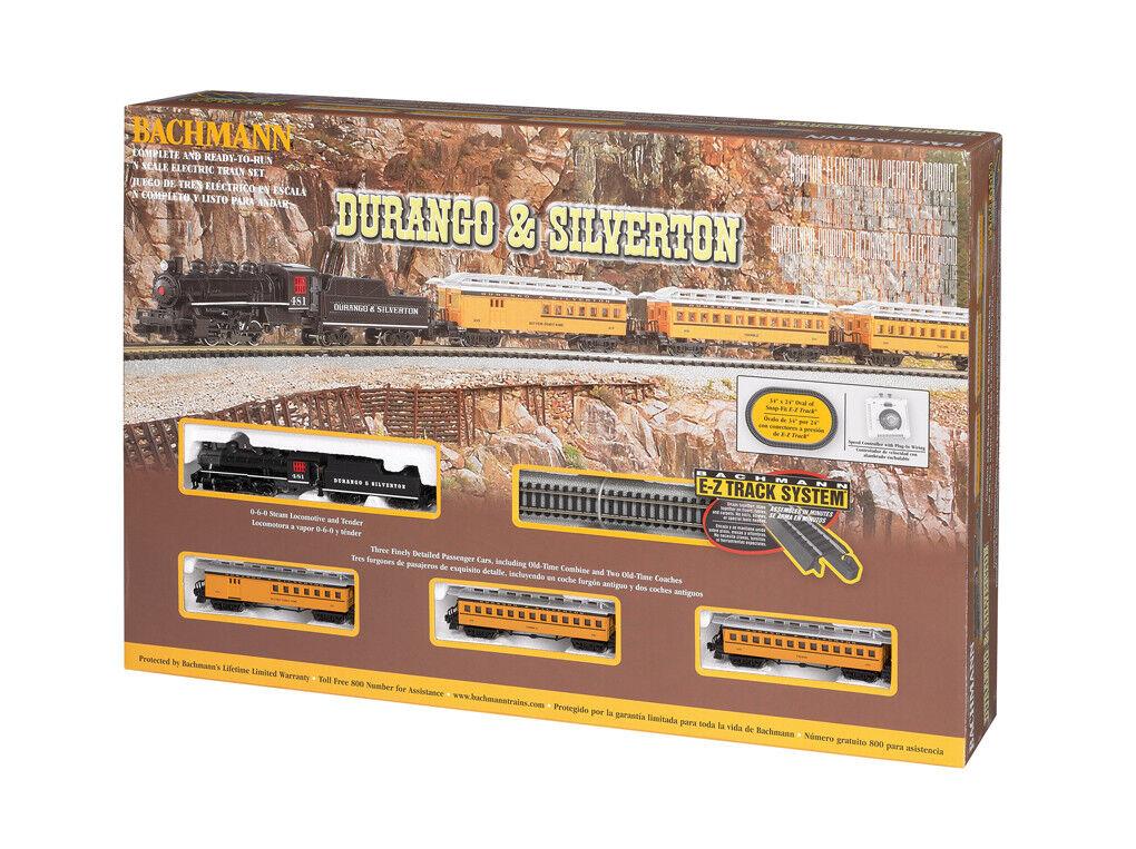 Bachuomon i treni  24020 Durango e argentoTON, scala N Set treno completo
