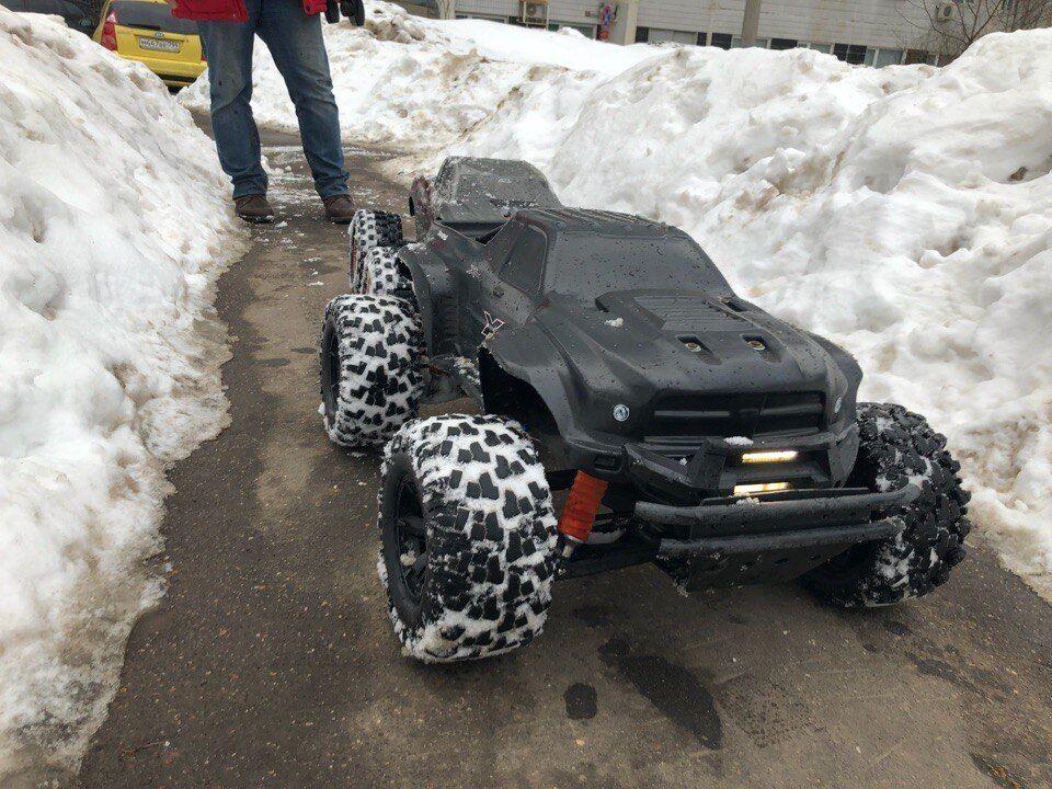 New Unbreakable body for Traxxas XMaxx Dodge Ram