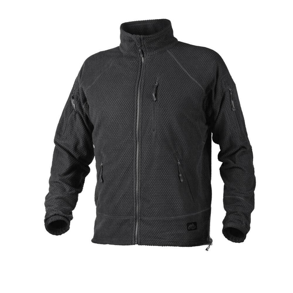Helikon  Tex Alfa Cuadrícula al aire libre polar chaqueta chaqueta negro XL Extra Grande  calidad oficial