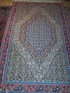 SENNEH Kleim, molto ben conservato, Tapis persan, 254 x 154 cm