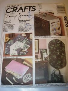 UNCUT-MCCALLS-SEWING-PATTERN-6278-NANCY-ZIEMAN-TOTE-BAG-CASSEROLE-WRAP-PLACEMAT