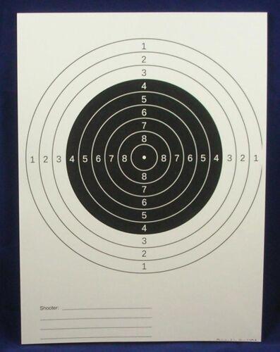 50 Pistolet et Fusil Cibles, noir Centers, rembourrée, livraison gratuite