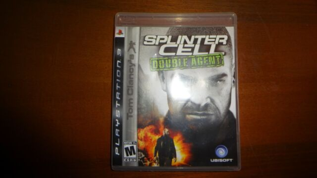 Splinter Cell Double Agent PS3 US version