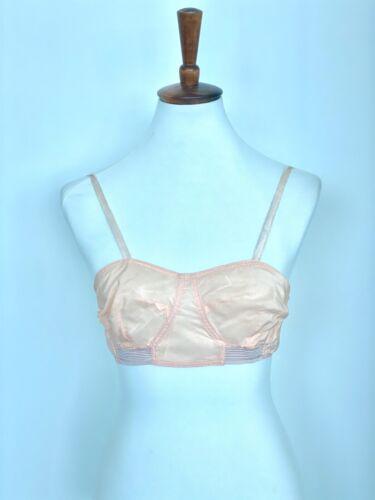 20s Pink Bralette - 20s Brassiere - 20s Bralette -