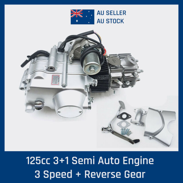 125cc Engine Motor 3 Speed Reverse Semi Auto replace 110cc ATV Quad Bike