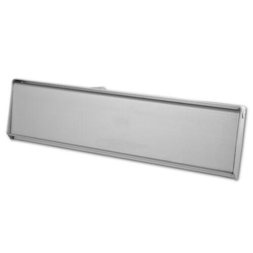 Satin Aluminium vorne Tür Intern Extern Briefkasten Postalisch Teller Abdeckung