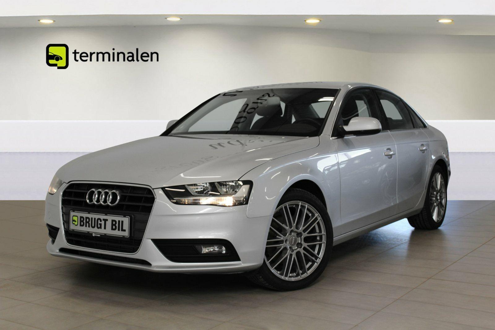 Audi A4 1,8 TFSi 170 4d - 194.800 kr.
