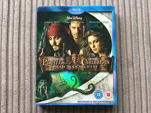 Pirates-Of-The-Caribbean-Dead-Man-039-s-Chest-Bluray-Disney-Johnny-Depp