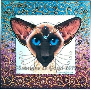 Siamese-Cat-art-print-painting-Limited-Edition-from-original-by-Suzanne-Le-Good