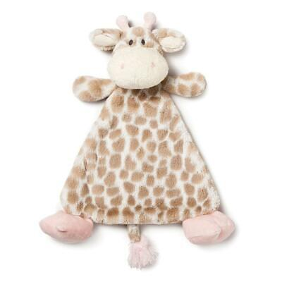 Luxurious Baby Super Soft Collection Pink Sadie or Blue Colby Giraffe Pacifier