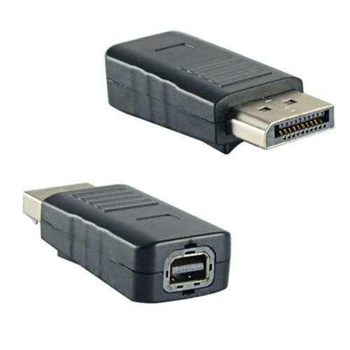 New DisplayPort to Mini DP DisplayPort Male to Female Adapter for Apple Display