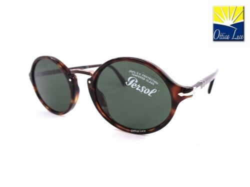 Occhiale sole Persol 3208s 24 31 Avana Typewriter Evolution Sunglasses 2431