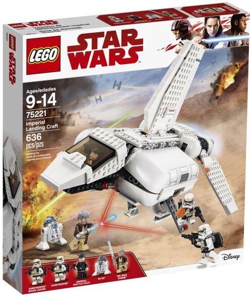 LEGO Star Wars - Imperial Landing Craft - 75221 - New, Sealed - 636 Pcs