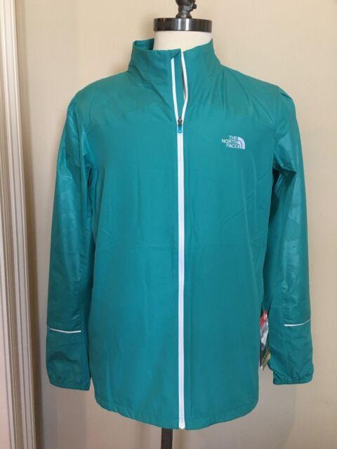 bcd04d5ce7bf North Face Green Jacket Sz S Lightweight Womens Torpedo Kolomo Run Reflect   99