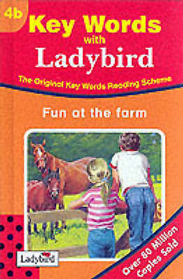 """""""AS NEW"""" Murray, William, The Ladybird Key Words Reading Scheme: book 4b FUN AT"""