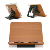 Portable Reading Desk Holder Book Stand MDF Clover