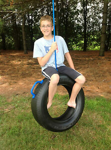 Image Is Loading One Tire Swing Made From Real Recycled Tire