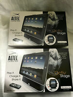 X2 Altec Lansing Octiv Stage Ipad Stand With Speaker