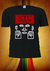 XTC Band Logo Black Short Sleeve T-shirt