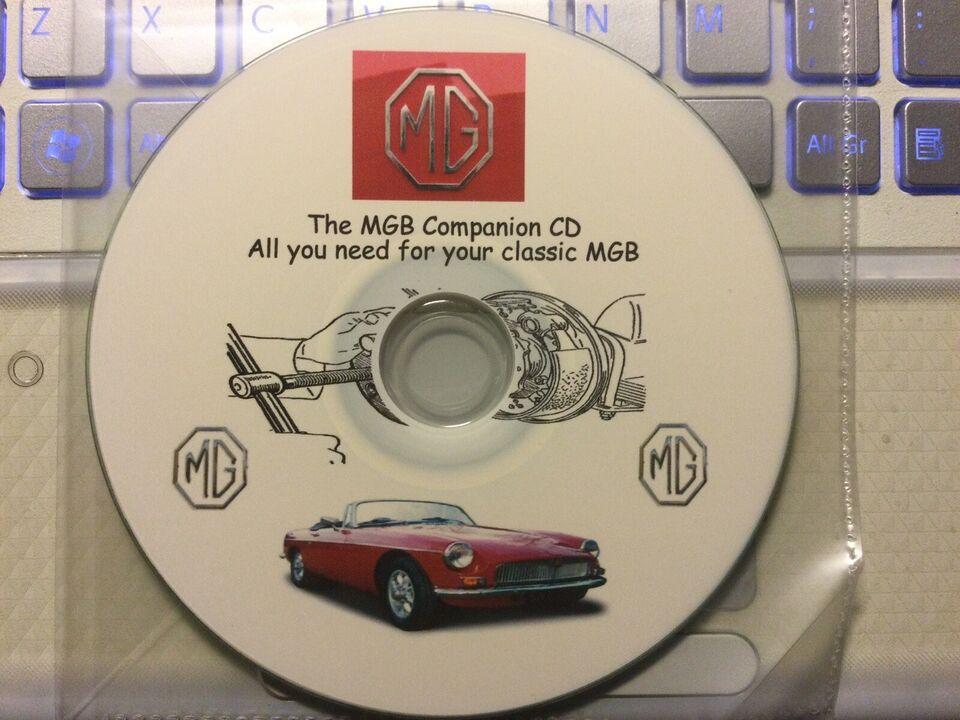 Værkstedshåndbøger mm., The MGB companion VD