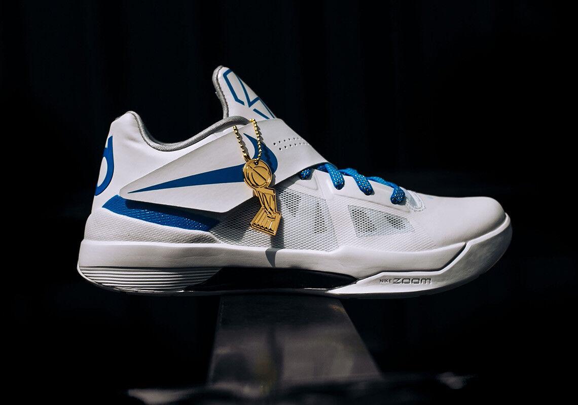 Nike Zoom KD 4 struck IV CT16 QS Thunder struck 4 finals MVP cómodo casual salvaje e86284