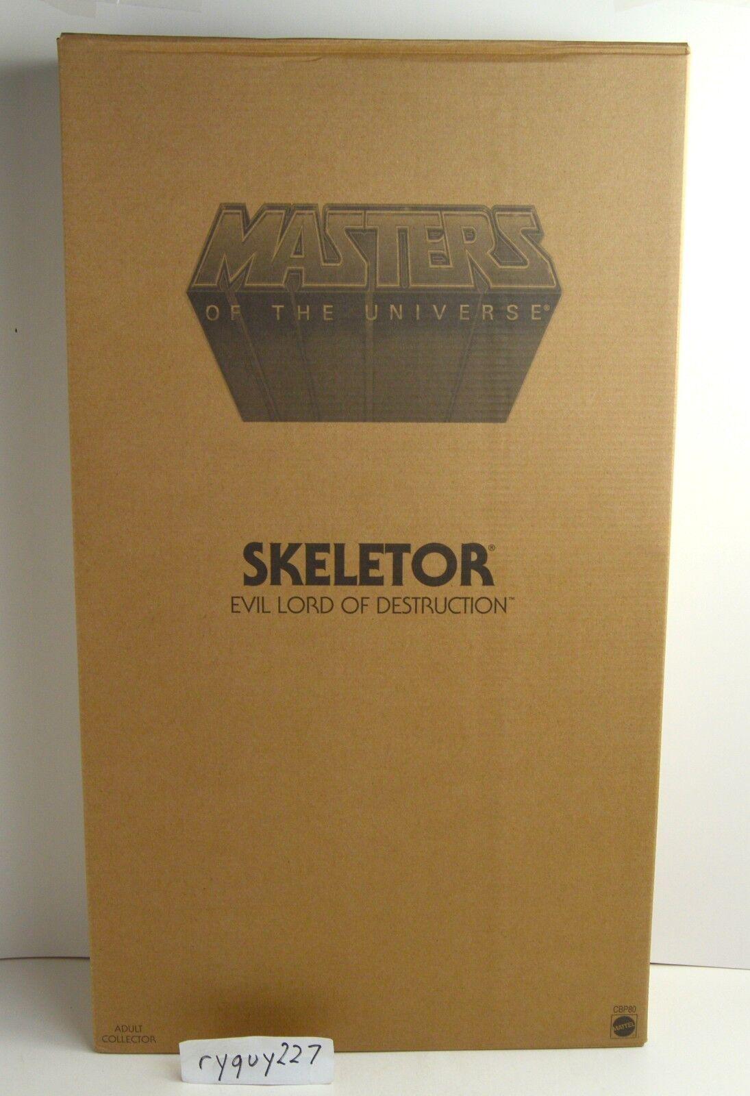 MOTU, Giant Skeletor figure, Masters of the Universe, MOC 12