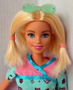 Barbie Doll Blonde With Short Hair Redressed Cute Ebay