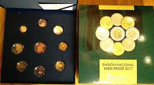 ESPAÑA 2017 : Estuche completo del Euro calidad PROOF - spain coin