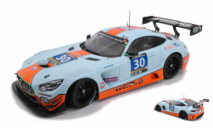 MERCEDES gt3  30 2nd 24 H P. Ricard 2016 Hall Goethe marróne Campbell 1 18