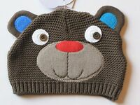 Babies R Us Knit Brown Bear Hat Baby Infant