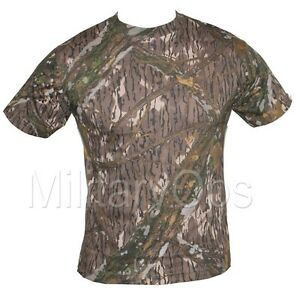 military mossy oak camouflage camo t shirt us army 100 cotton ebay. Black Bedroom Furniture Sets. Home Design Ideas