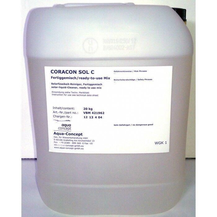 RaGo Coracon Sol C 20kg Reinigungsflüssigkeit für Solaranlagen