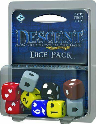 FFGDJ08 Fantasy Flight Games Descent Journeys in the Dark 2nd Edition Dice Pack