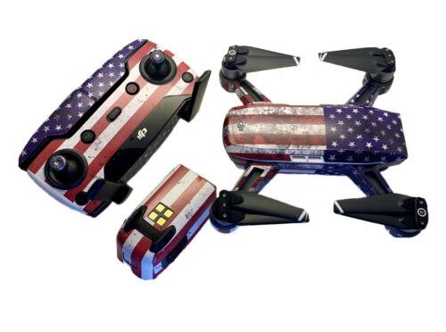 Sticker //Decal USA Flag dji spark wrap