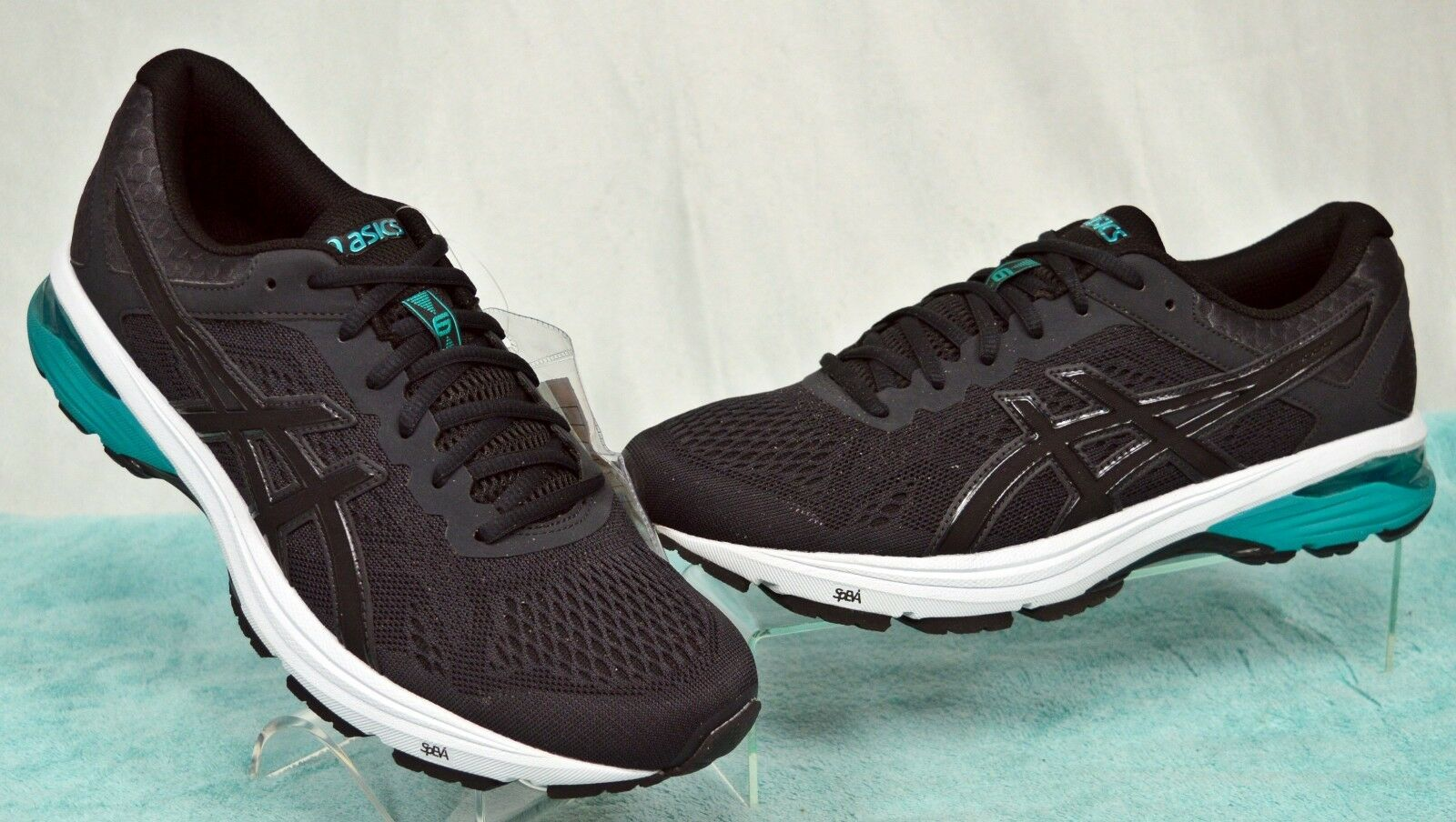 ASICS GT-1000 V6 Phantom noir Running/Training Sneaker Chaussures Sz 9 NEW Sample