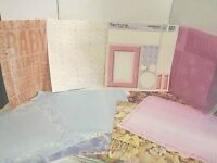 Scrapbooking Pages 12 X 12 Lot Sheets Baby Girl And Boy Theme 40 Plus Designs