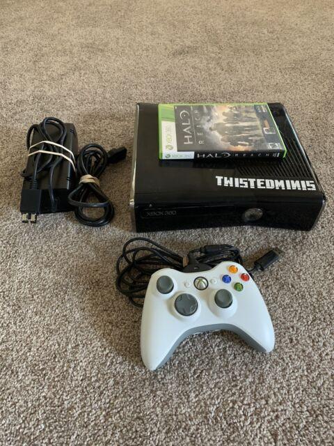 Microsoft Xbox 360 S Console Slim 250GB Black Bundle ...