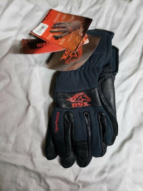 Black Stallion BSX LS50 Woman/'s AngelFire Premium Pigskin Welding Gloves Large