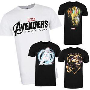 Marvel-Avengers-Endgame-Movie-Official-Mens-T-shirts-S-XXL