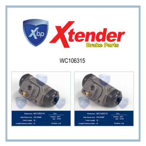 WC106315 Fits Dodge Classic Drum Brake Wheel Cylinder D100 Series//Dart//Monaco