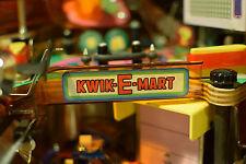 The Simpsons Pinball Party Machine Kwik-E-Mart Sign Mod
