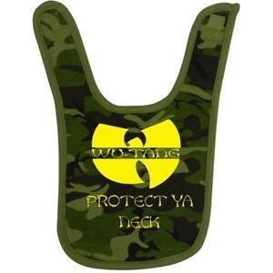 Wu Tang Clan Bib 90s Rap Hip Hop Bib Proteck Ya Neck Camo Ebay