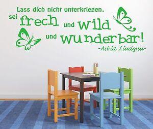 X478-Wandtattoo-Spruch-Sei-frech-wild-wunderbar-Zitat-Lindgren-Wandaufkleber