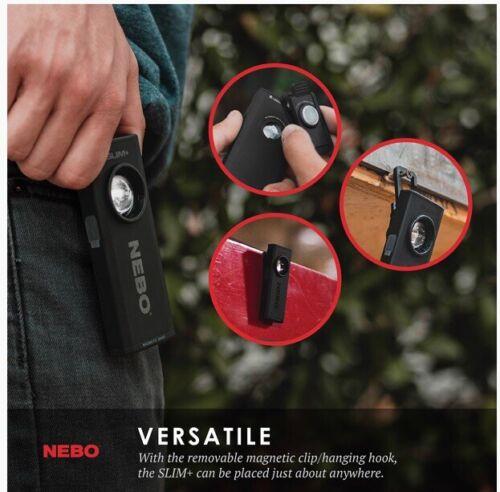 Phone Charger Plus a 700 Lumen Flashlight Combo The Nebo SLIM Plus
