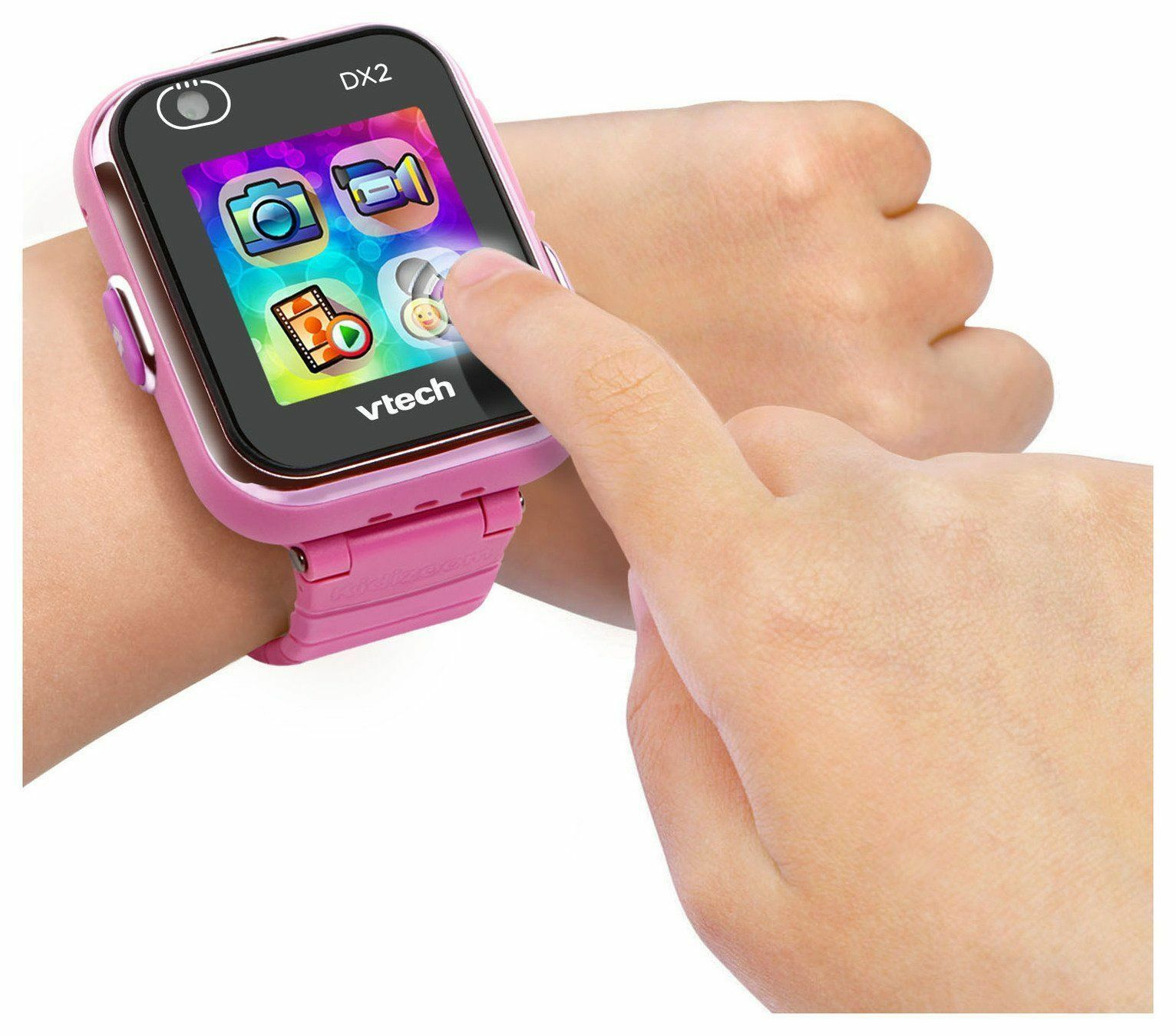 VTech Kidizoom DX Dual Camera Smart Watch - Pink.