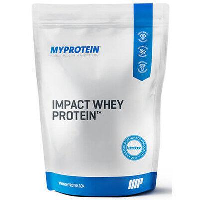 MyProtein Impact Whey Protein Eiweiß 2,5kg 2500g Chocolate Smooth Schoko Pulver