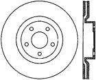 Disc Brake Rotor-Base Front Centric 121.62085