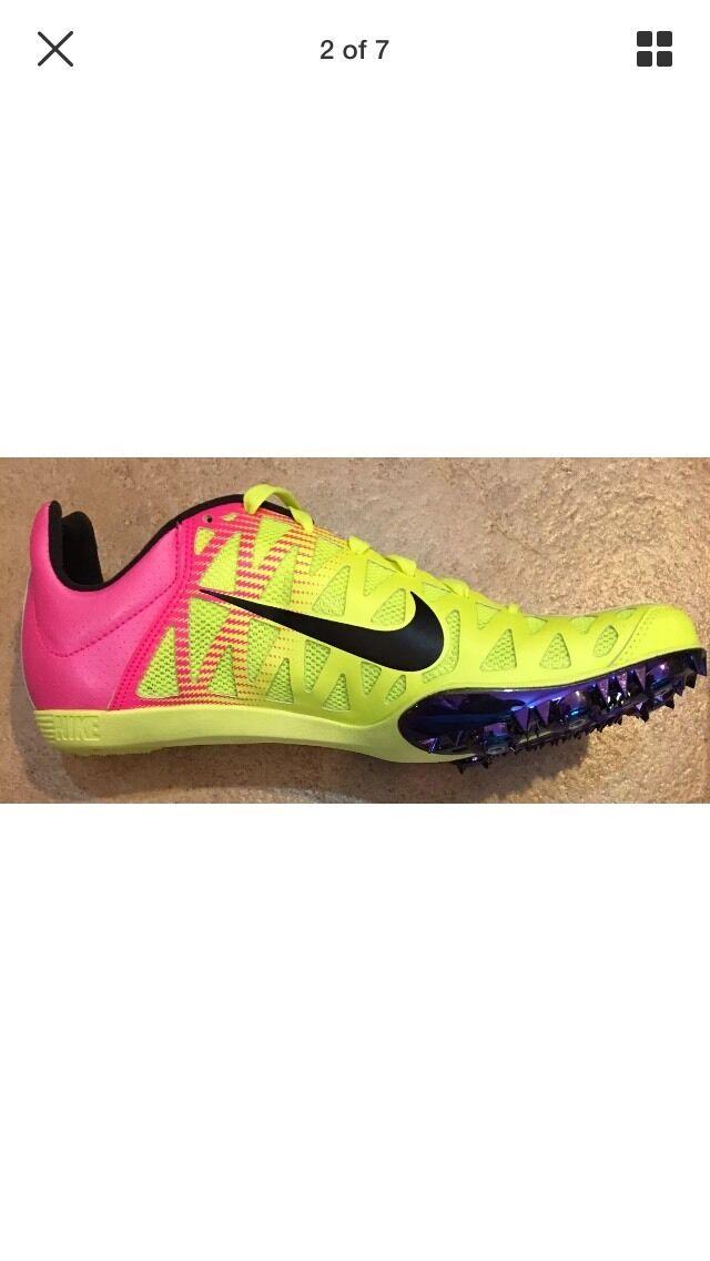 Nike Maxcat 4 RIO OC  Running Track Shoes 549150-999 Uomo 9.5 Wmns 11 NNB  125