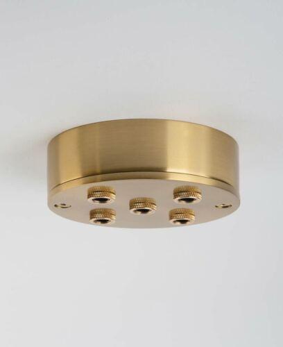 Fool/'s Gold multi-roses de Plafond Facile à installer Col /& Plaque Système